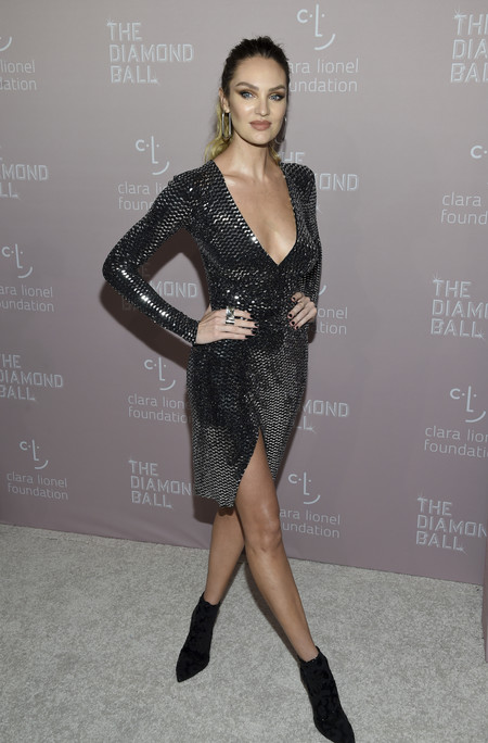 Candice Swanepoel diamond ball