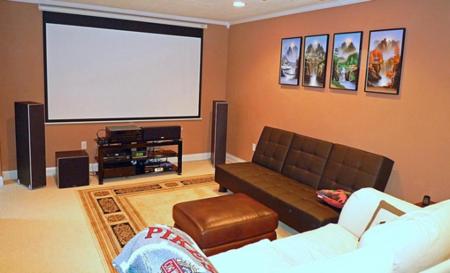 Montar un cine en casa good esta es mi sala de cine en - Montar un cine en casa ...