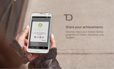 Todoist Karma llega a Android para cuantificar nuestra productividad