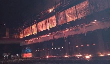 Desastre en Termas de Río Hondo: un terrible incendio ha devastado el circuito argentino de MotoGP
