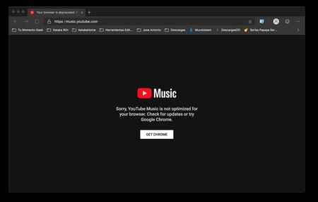 Youtube Music En Edge