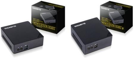 Gigabyte añade 4 nuevos  modelos a su línea  Brix de mini-PC