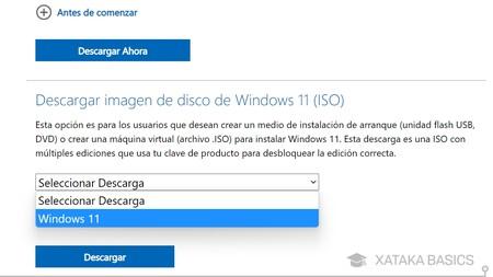 Elige Windows 11