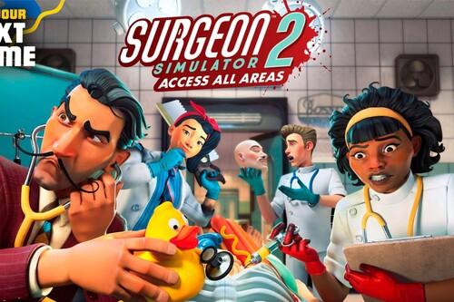 Análisis Surgeon Simulator 2: Access All Areas, es un caso perdido sin importar todo el contenido nuevo