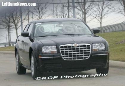 Fotos espías del 2008/2009 Chrysler 300C