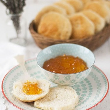 Butter rolls o panecillos de leche y mantequilla. Receta con Thermomix