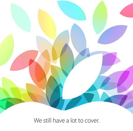 Se confirma evento de Apple para el 22 de Octubre, nuevas iPad en camino