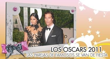 Especial Famosos en los Oscars 2011: Parejas de Poprosa de parranda en las Fiestas