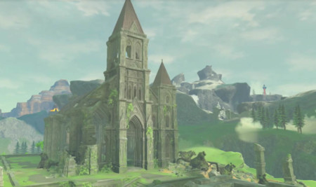 Nintendo muestra más de medio minuto del Templo del Tiempo en Zelda: Breath of the Wild