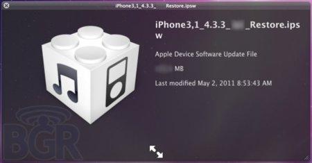 Apple publicará iOS 4.3.3 en dos semanas y eliminará el registro de localizacion