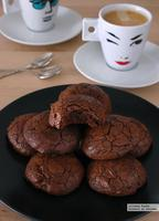 Galletas de centeno y chocolate. Receta