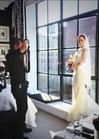 Pero mira qué mona vestida de novia Christina Ricci