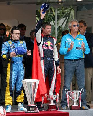 David Coulthard Superman Monaco 2006