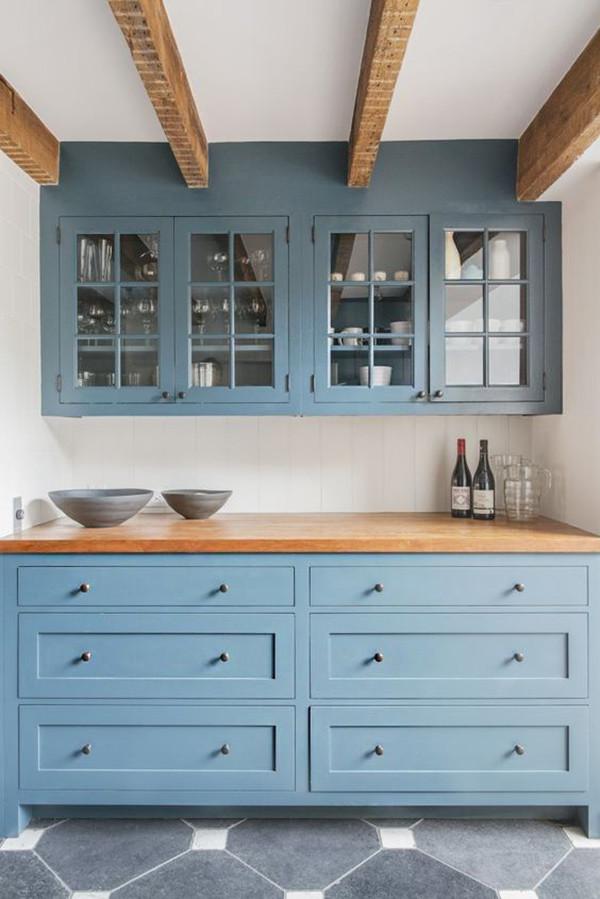 Muebles Azules Cocina 4