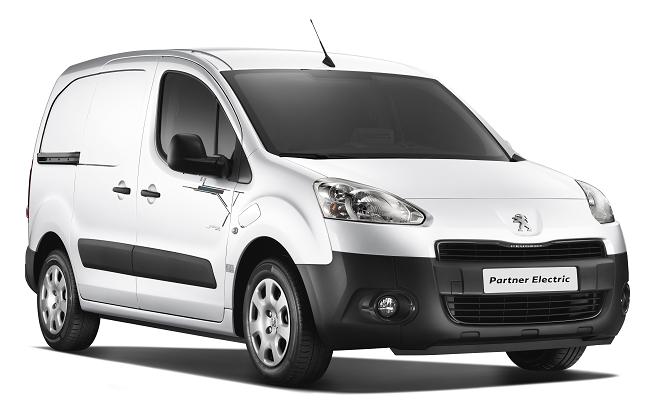 Peugeot Partner eléctrica