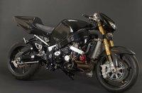 Sortean la Hayabusa de Ghost Rider, sí, ese de negro que iba a 300