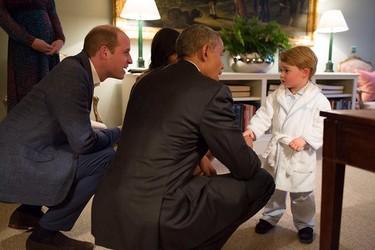 Morir de monería con el Príncipe George en pijama y el sueño de Alexander de Suecia