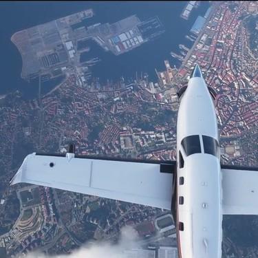 Si, Vigo aparece a vista de pájaro en el tráiler de Flight Simulator. Y eso demuestra su alucinante realismo