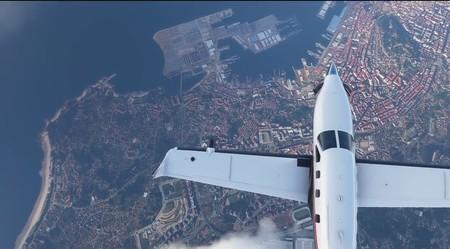 Sí, Vigo aparece a vista de pájaro en el tráiler de Flight Simulator. Y eso demuestra su alucinante realismo
