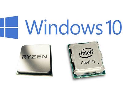 Si tienes un procesador de última generación ya puedes olvidarte de usar algo que no sea Windows 10