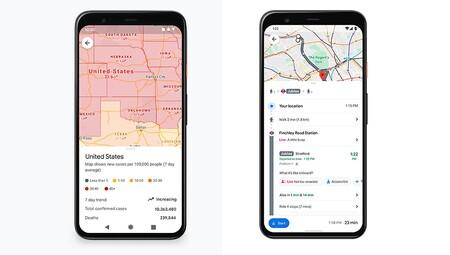 Google Maps Actualizaciones