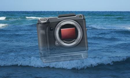 Esto es lo que le puede pasar a una cámara de once mil euros por un poco de agua salada