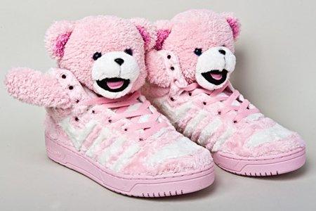 Zapatillas Adidas Teddy Bear de Jeremy Scott