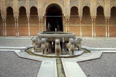 Los Leones vuelven a exhibirse en la Alhambra