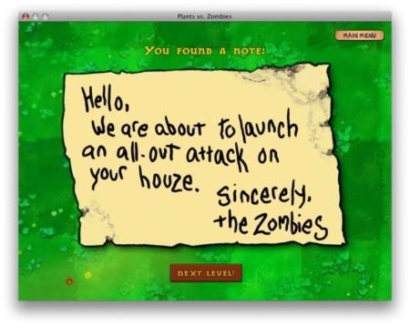 Somos los zombies oye que si eso vendremos a atacarte