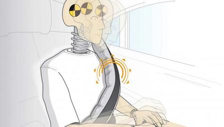 Mercedes también utilizará los cinturones de seguridad hinchables
