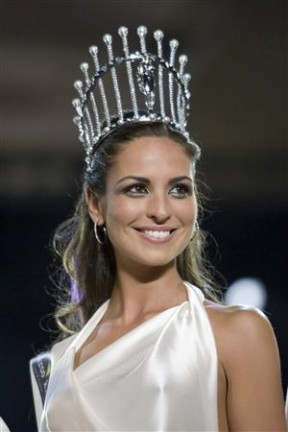 Estíbaliz Pereira es la nueva Miss España 2009
