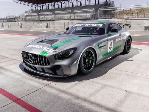 El Mercedes-AMG GT4 estrenará en competición el motor 4.0 litros V8 biturbo