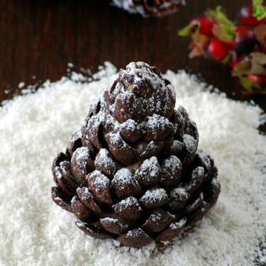 Cómo hacer piñas de cereales de chocolate y mazapán: receta divertida para adornar tu mesa navideña