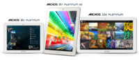 Archos presenta la nueva familia de tablets Platinum