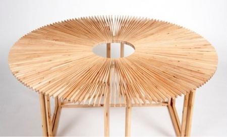 mesa abanico 2