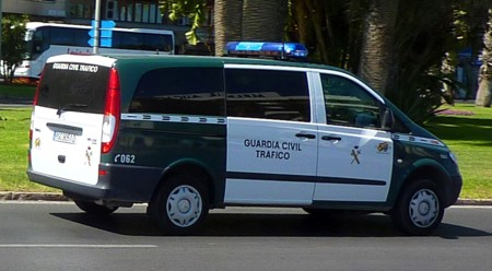 Mercedes Benz Vito Guardia Civil