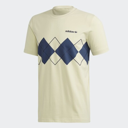 Camiseta Argyle Amarillo Fm3420 01 Laydown