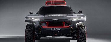Hola, Audi RSQ e-tron: éste es el todoterreno híbrido con el que Carlos Sainz correrá el Dakar 2022