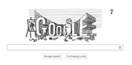 El fabuloso doodle de Google para homenajear a Stanislaw Lem