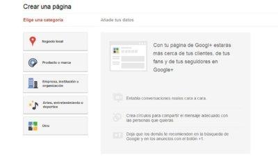 Las páginas de Google+: con qué nos encontramos. A fondo
