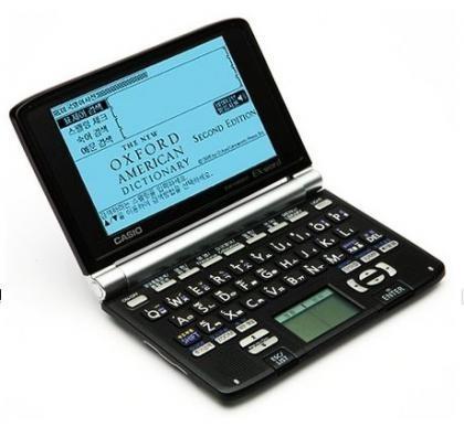 Casio EW-H6000, diccionario electrónico con pantalla táctil