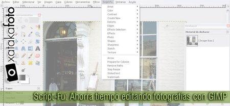 Script-Fu: Ahorra tiempo editando fotografías con GIMP