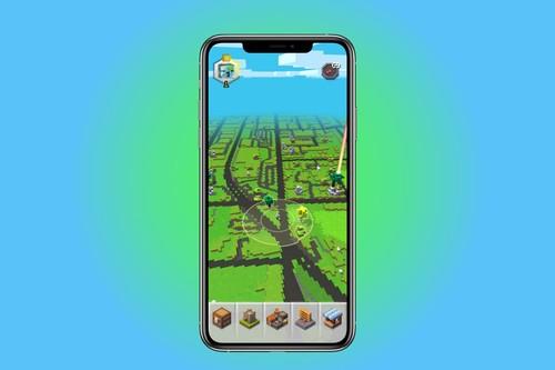 'Minecraft Earth' para iPhone, lo hemos probado: así es jugar a 'Minecraft' en realidad aumentada