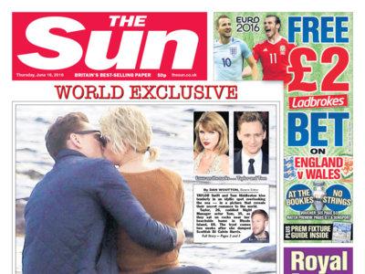 ¡Ah no! ¿Tom Hiddleston y Taylor Swift? ¡Por ahí no paso!