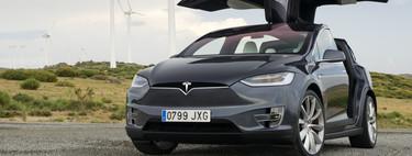 Probamos el Tesla Model X P100D, porque ya no hace falta gasolina para ponerse a 100 km/h en 3,1 segundos
