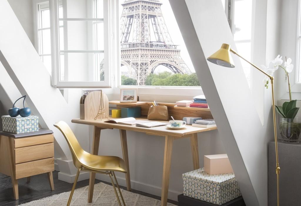 Para espacios amplios y pequeños, las propuestas de Habitat para tener una oficina en el hogar
