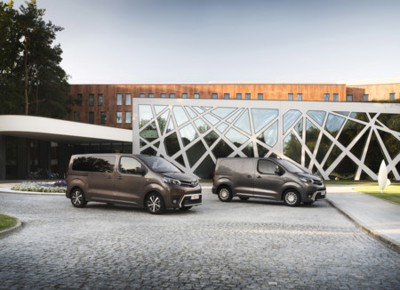 Toyota Proace Verso y Furgón