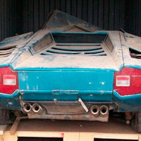 Este Lamborghini Countach LP400 'Periscopio', tras años de abandono, volverá a la vida gracias a Kidston