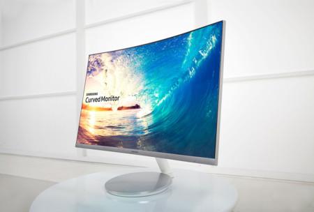 Samsung Cf591 Curved Monitor 1
