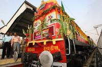 El tren vuelve a unir India y Bangladesh después de 43 años